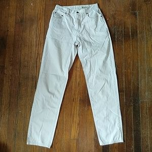 3 FOR $20 * Eddie Bauer high rise off-white jeans